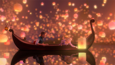 Sky Lanterns Scene Image from Disney's Tangled