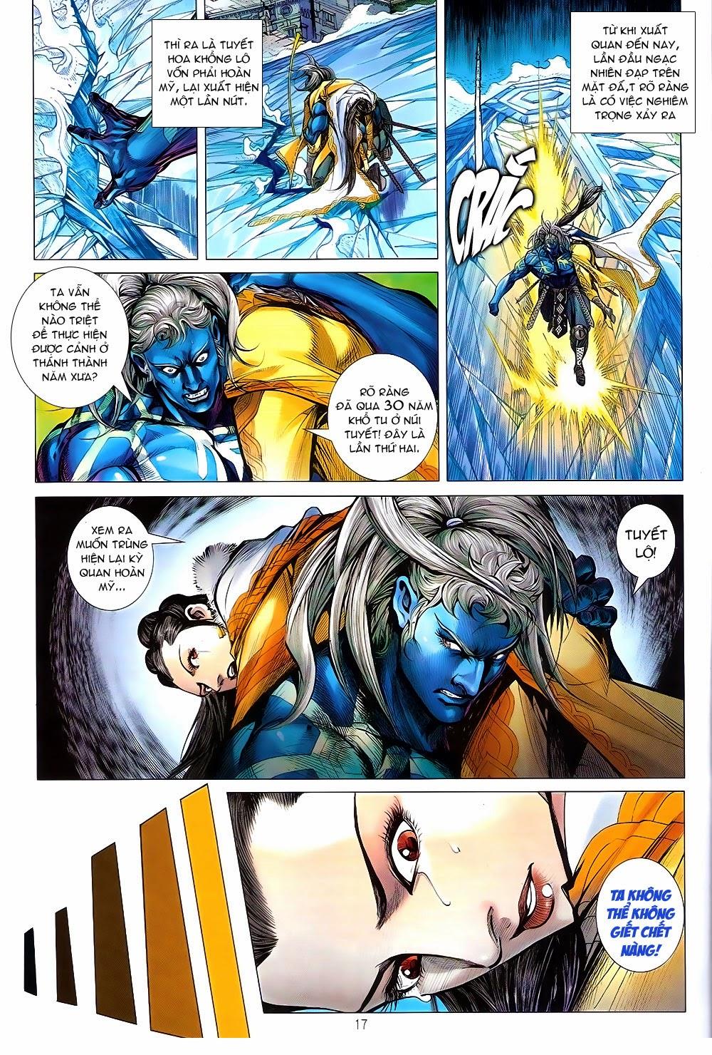 truyện tranh thiết tướng tung hoành Chapter 90/