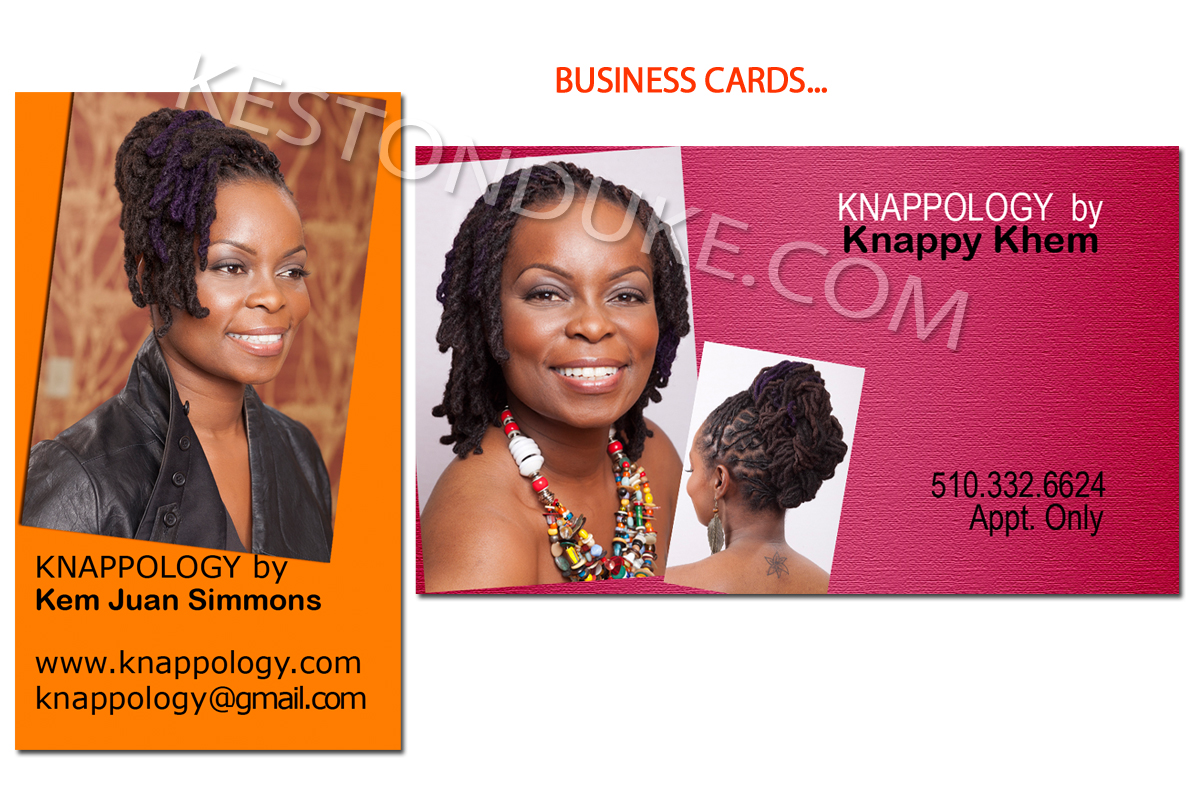 Business cards for hairstylist... | Keston Duke Photographer