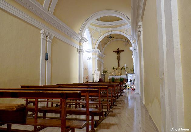 Interior Ermita San Sebastián