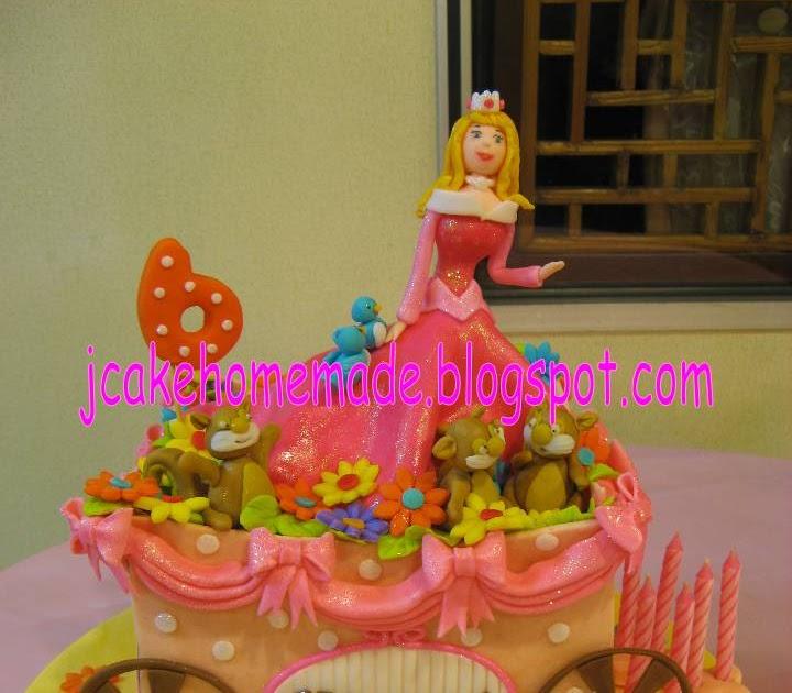 Jcakehomemade: Disney Princess Aurora birthday cake