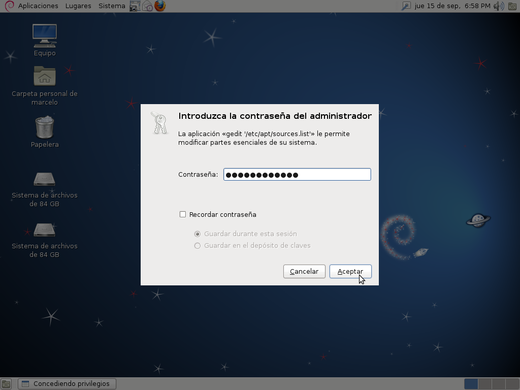 The most beautiful os part two : #debian