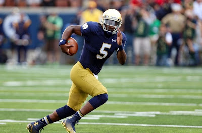 Notre Dame QB Everett Golson will transfer to another school.
