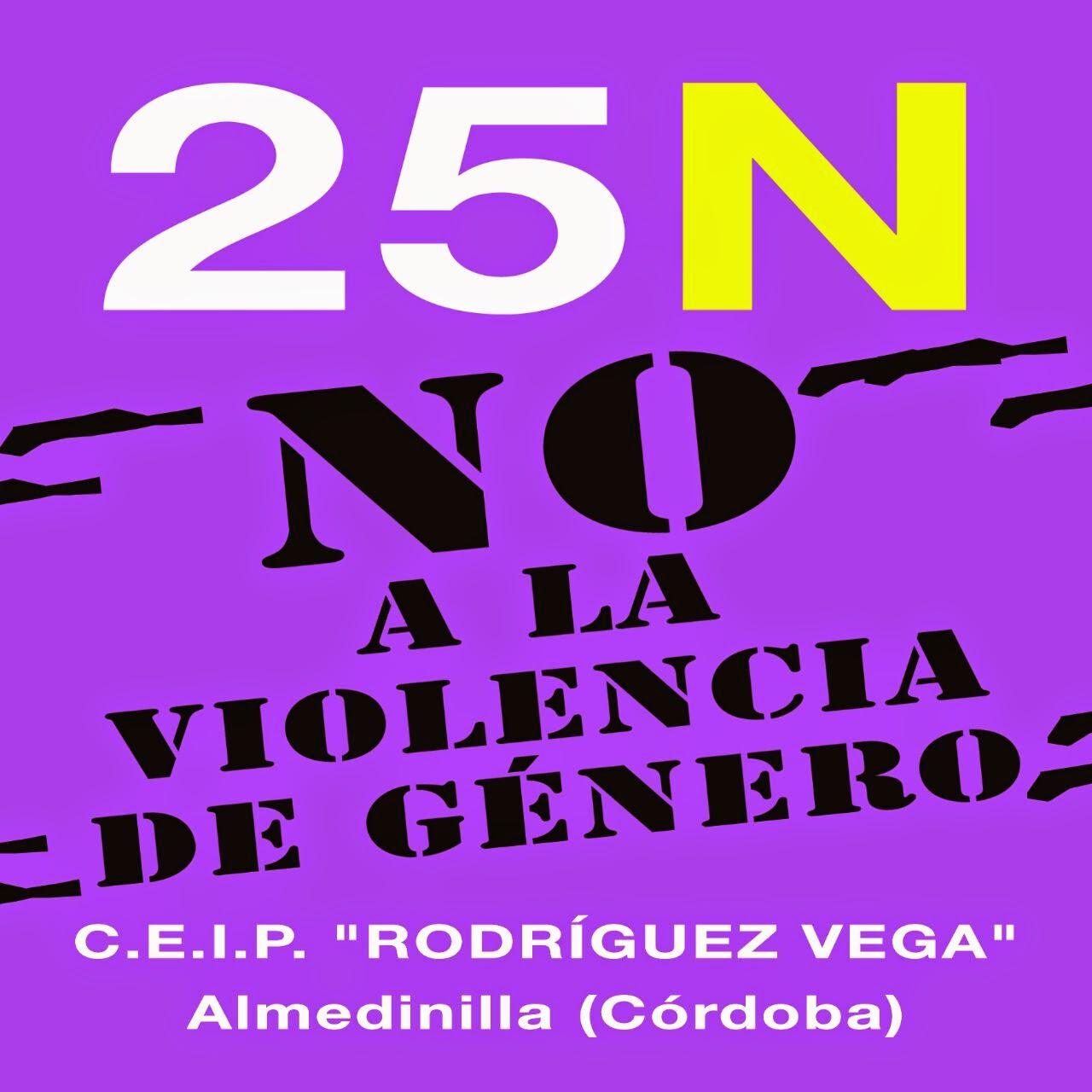 25 N: NO A LA VIOLENCIA DE GÉNERO