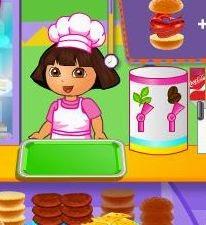 العاب طبخ دورا