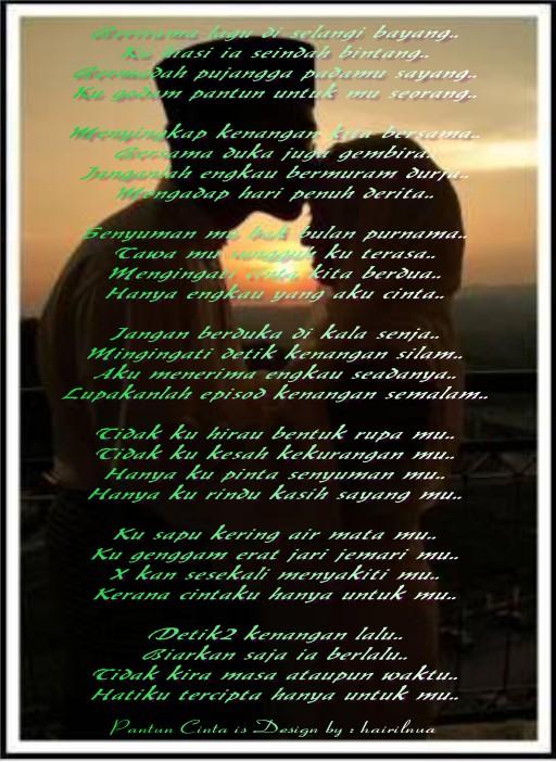 Pantun Cinta - Detik Kenangan Lalu