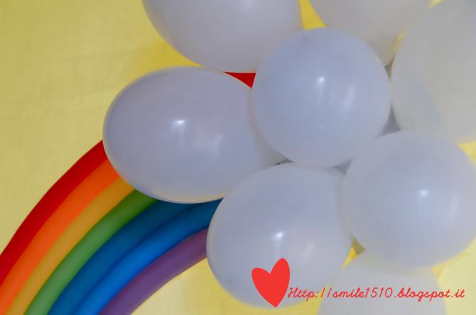 Ben noto Ballando con Sofia: Decorazioni per una festa a tema arcobaleno GT89