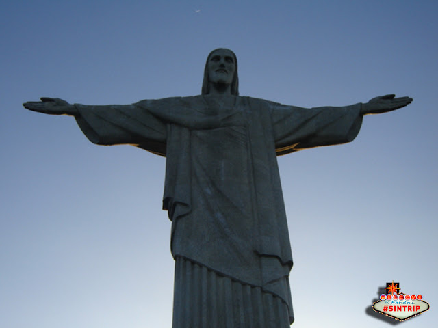 O Cristo Redentor, no Rio de Janeiro