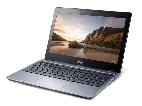 Acer unveils its new Chromebook which now includes an Intel Celeron 2955U latest generation processor based on the Haswell architecture. Chrome OS so it offers more than 8 hours of battery life for a price of  364 dollars.