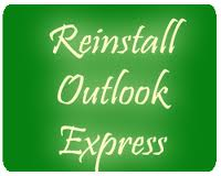 reinstall outlook express