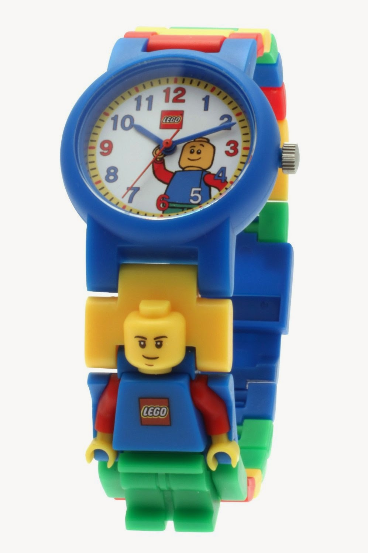 Libros y juguetes 1demagiaxfa toys lego 9005732 reloj infantil para ni o - Manualidades relojes infantiles ...