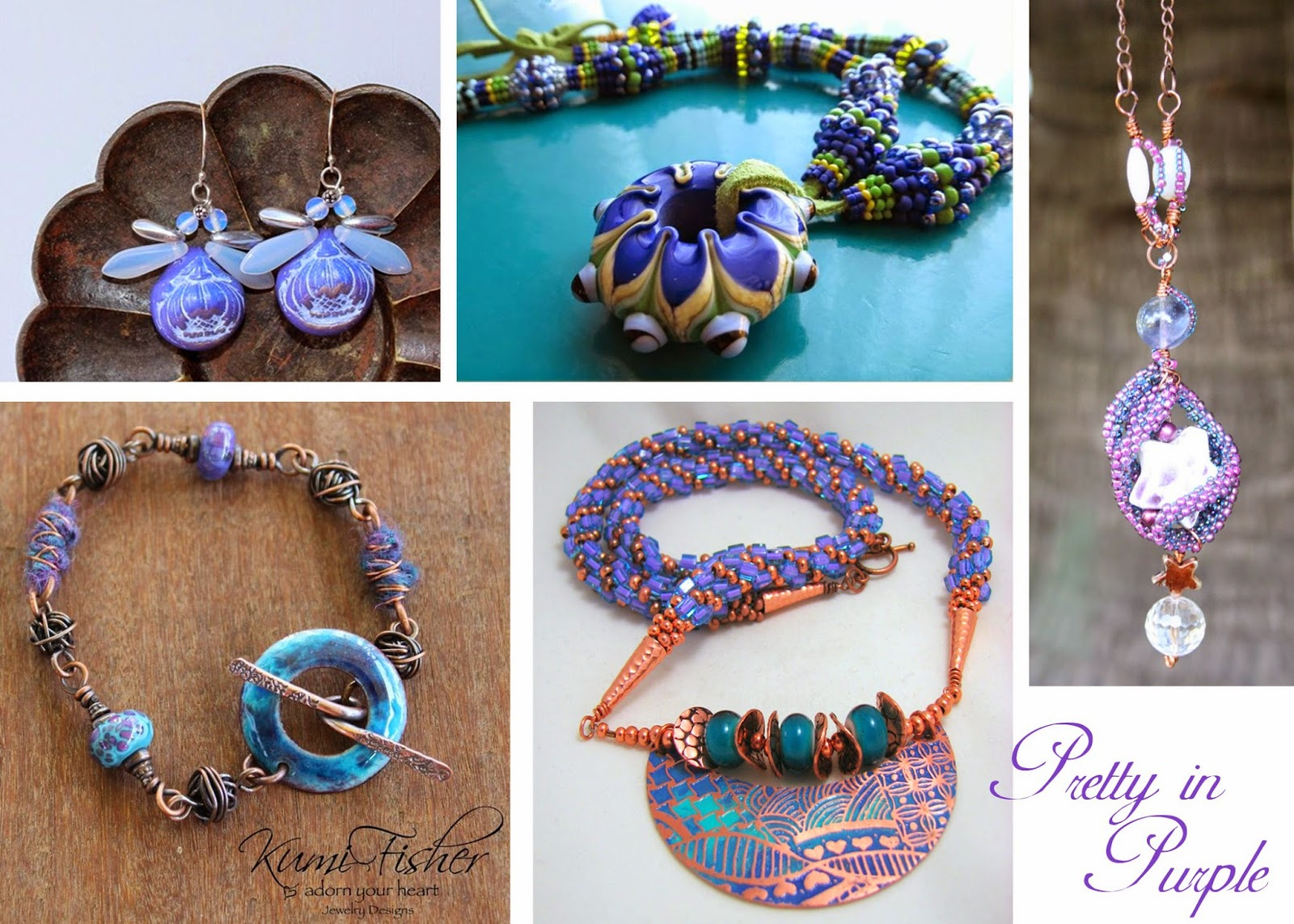 Handmade jewelry trends for AW14-15 radiant orchid