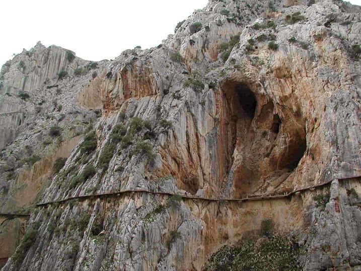 tuyệt tác Caminito del Rey - con đường của nhà vua