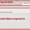 Iklan Responsive Yang Efektif Naikan CPC Adsense