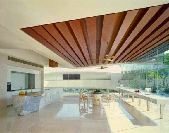 Top tips to make Suspended ceilings made of wood