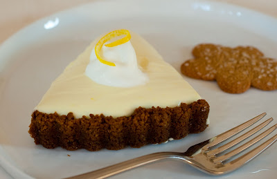 LemonMousse Tart in a Gingersnap Crust