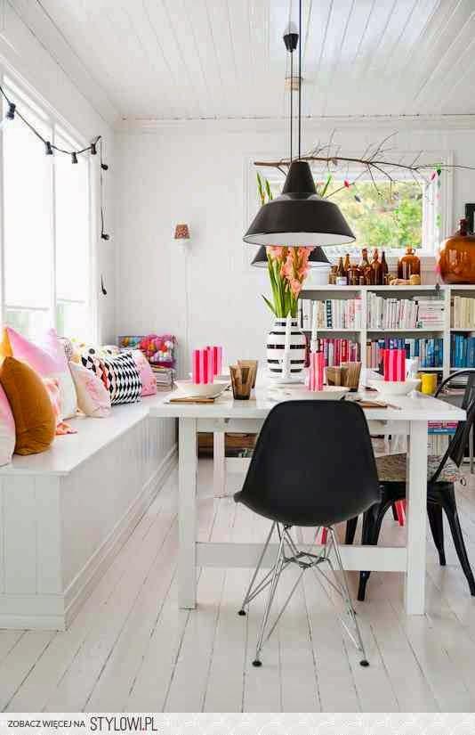 kolor, tkaniny, kolorowa, wnętrze, mieszkanie, jak kolorem, poduszki,
