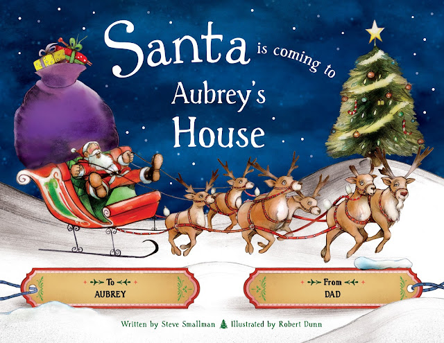Put Me In The Story Santa Is Coming To My House Personalized Book