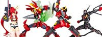 Revoltech Gurren Lagann Set