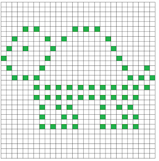 Turtle Bobble Square Chart