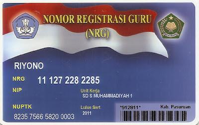 Judul: Kartu Sakti itu Bernama NRG ; Ditulis oleh Riyono Putra