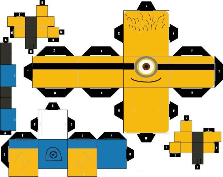 all minions papercraft | papercraft toys arte de papel