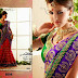 Indian Nakkashi Colorful-Printed Beautiful Sarees Wear Collection 2014 for Bridals-Wedding Latest Fashion Sari Dress
