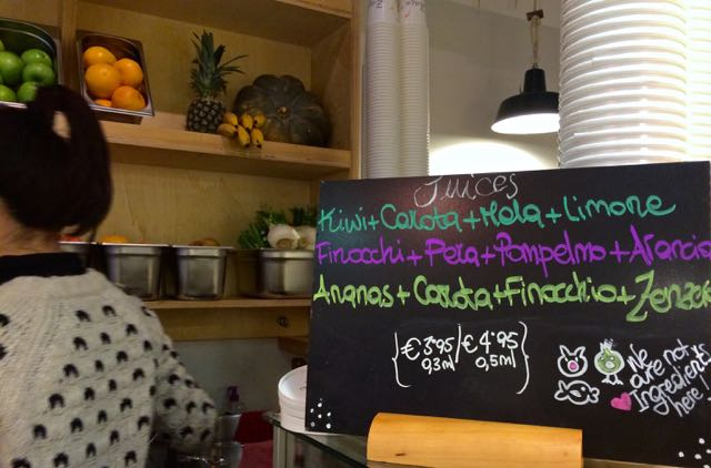 Juice Bars in Rome // Zazie