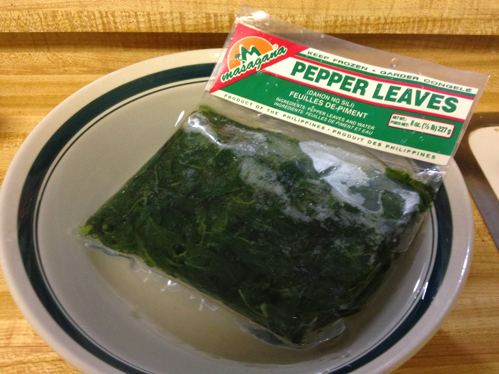 Hot Pepper Leaves