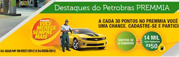 Promoção Petrobrás Premmia
