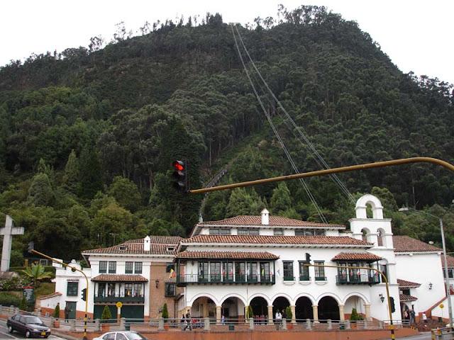 El Monserrate en Bogotá