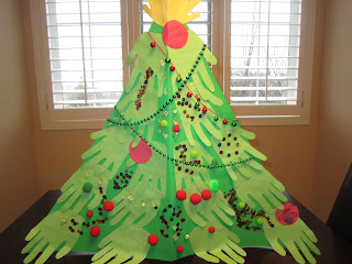 Christmas crafts, kids crafts, handprint crafts