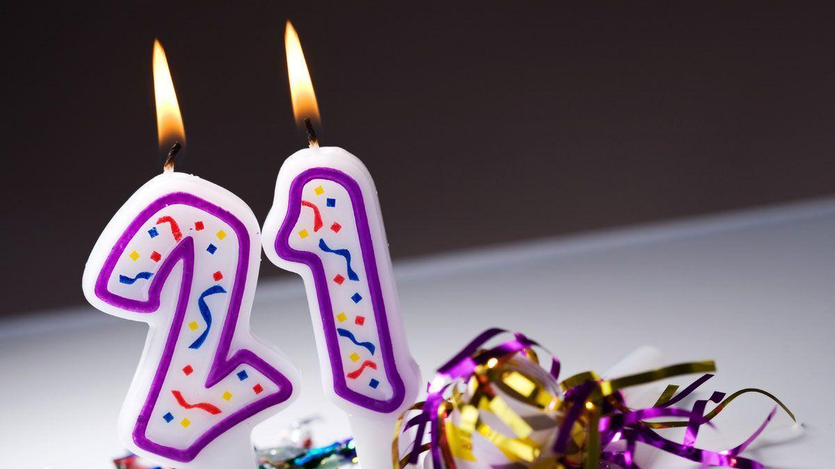 verjaardag 21 jaar wensen