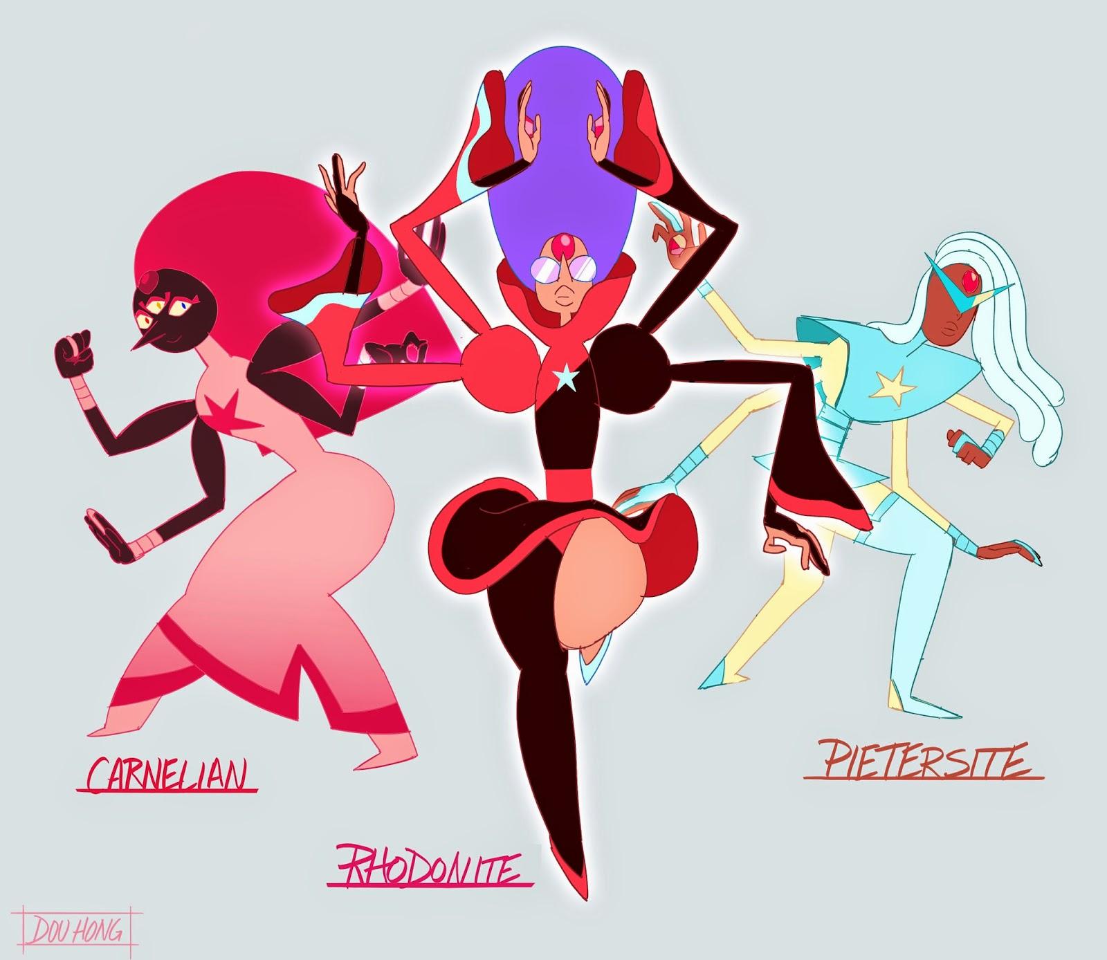 Dou Hong: Steven Universe: Garnet/Pearl Gem Fusion