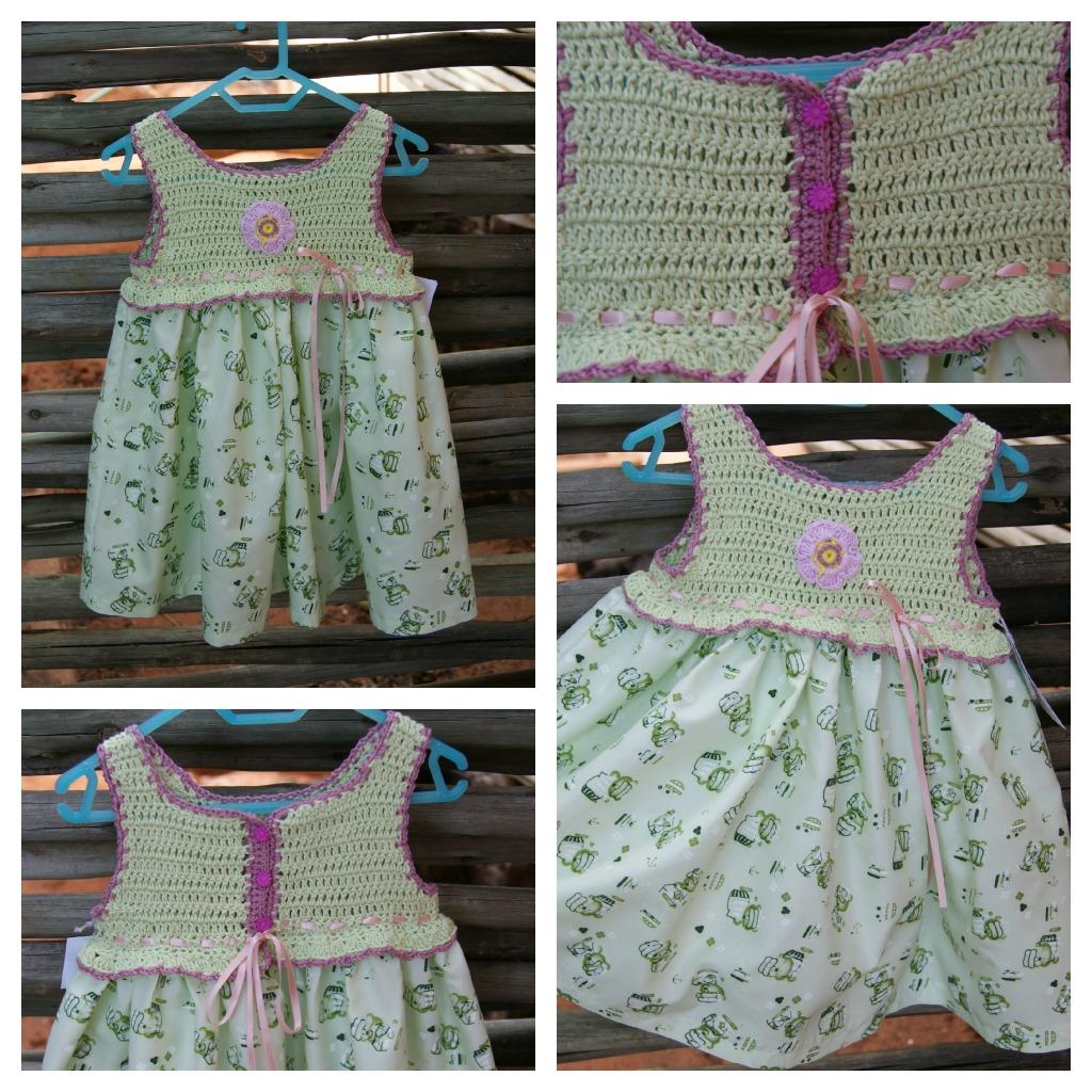 Pick me: Crochet yoke sun dresses are so cute!