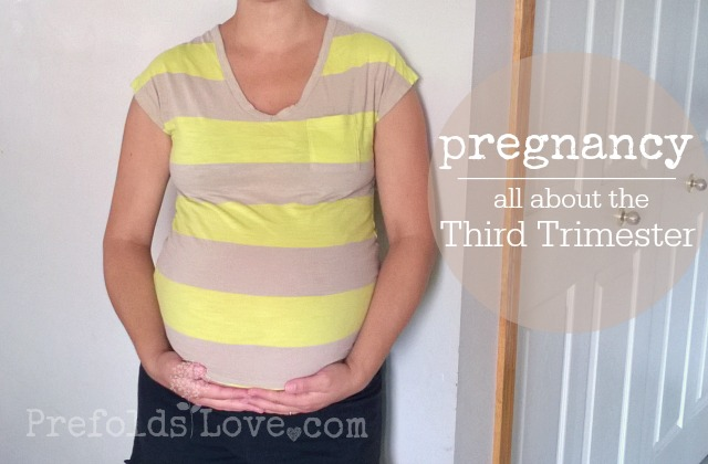 Pregnancy // all about the third trimester