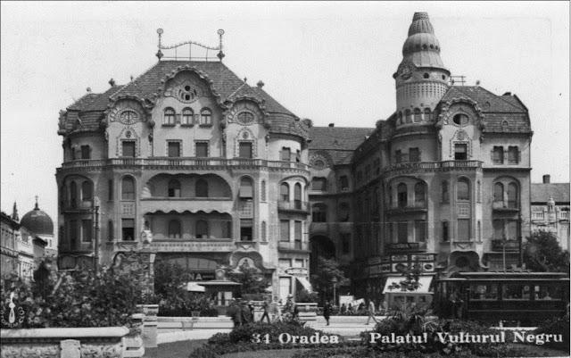 Palatul Vulturul Negru din Oradea