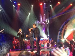 Alejandro Sanz canta con José Manuel y Marcos Martins No me compares-La Voz 2015