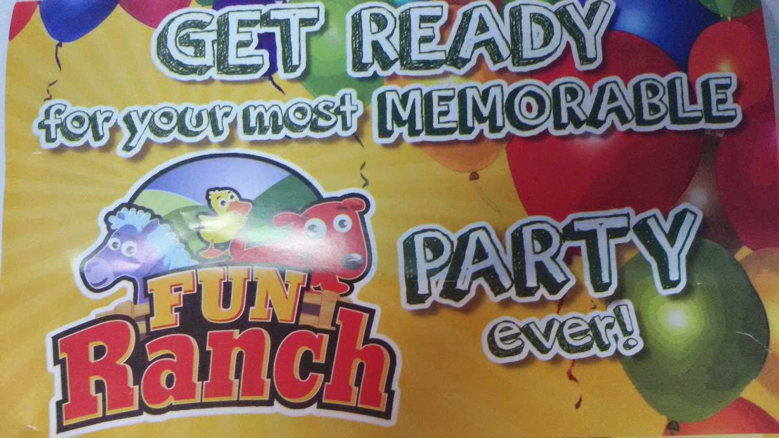 Fun Ranch Birthday Party Packages