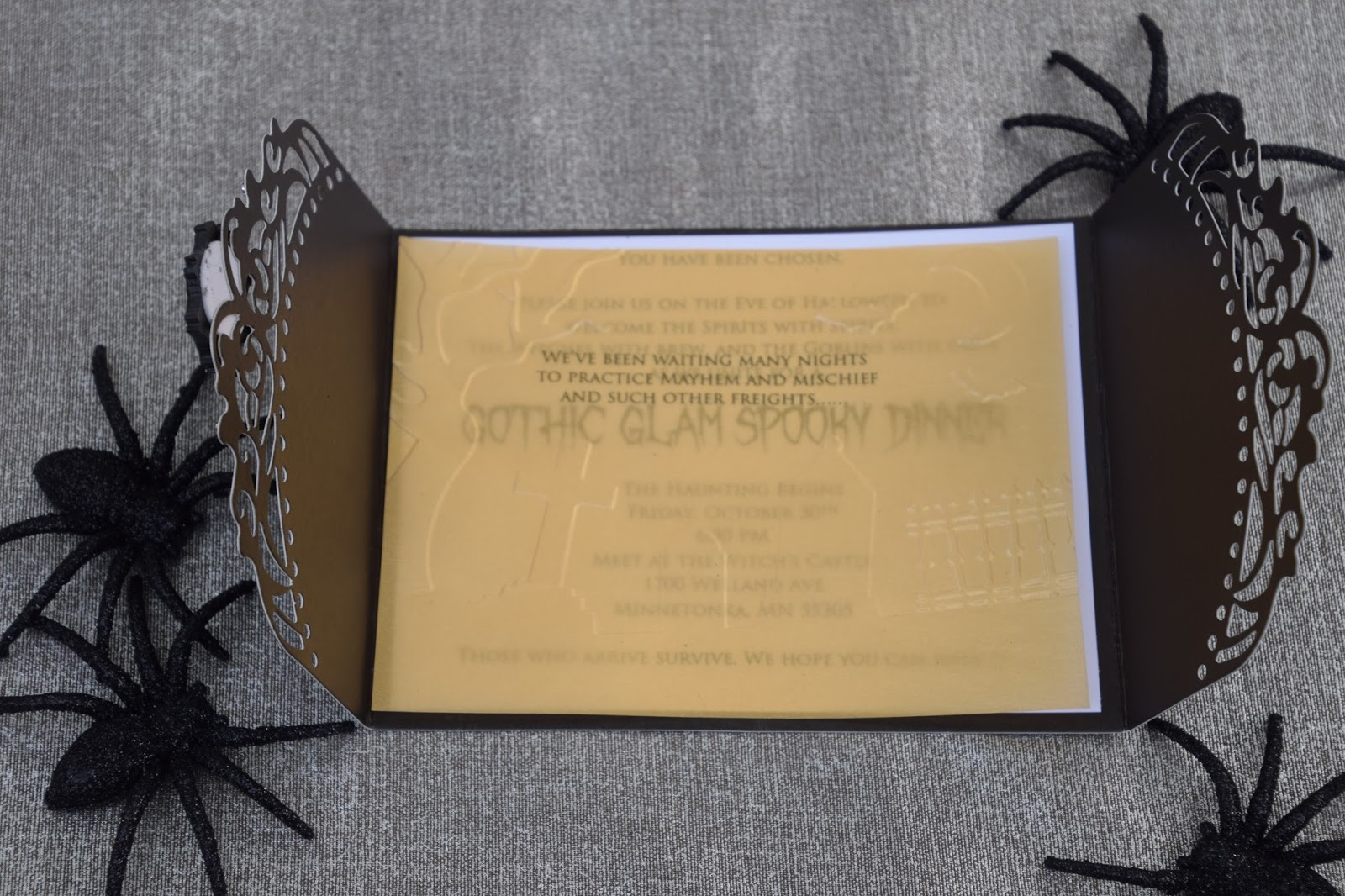 Gothic Wedding Invitations 28 Inspirational Although they turned out