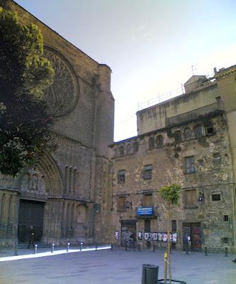 Plaça del Pi in Barcelona