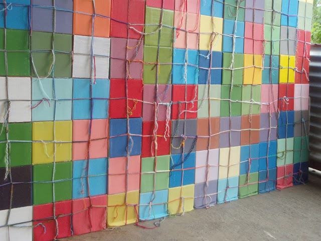 kate mackay, side wall, art, sculpture, geometric abstraction, non objective, kandos, cementa