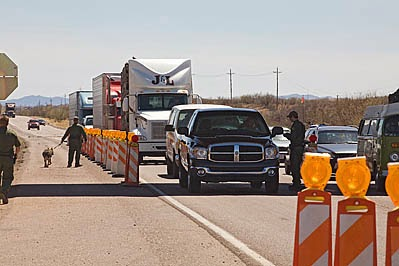 Border Patrol Tactical Checkpoints A Violation Of Americans Rights