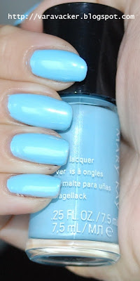 naglar, nails, nagellack, nail polish, blått, blue, marykay