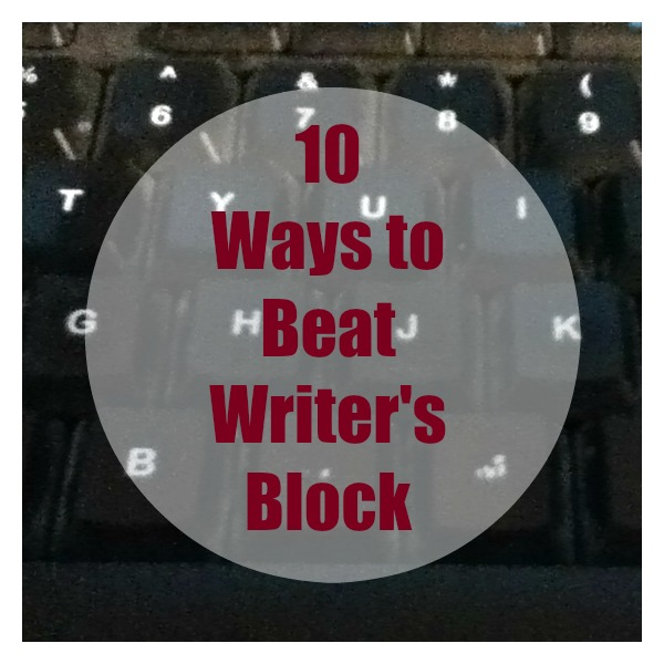 ways to help writers block