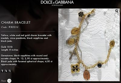 D&G Fashion Jewelry| Charm Bracelet