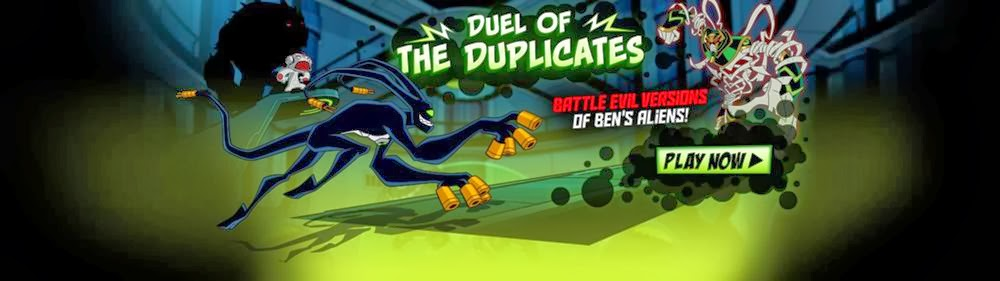 Ben 10 Games | Duel of the Duplicates | Cartoon Network