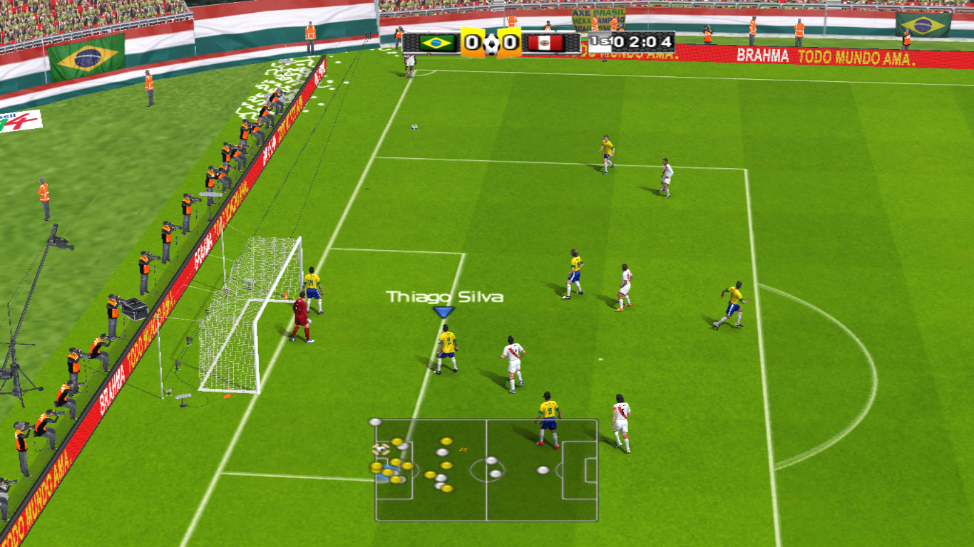 Download Stadium Maracana 2014 versi Flamengo Fluminense HD - PES 6