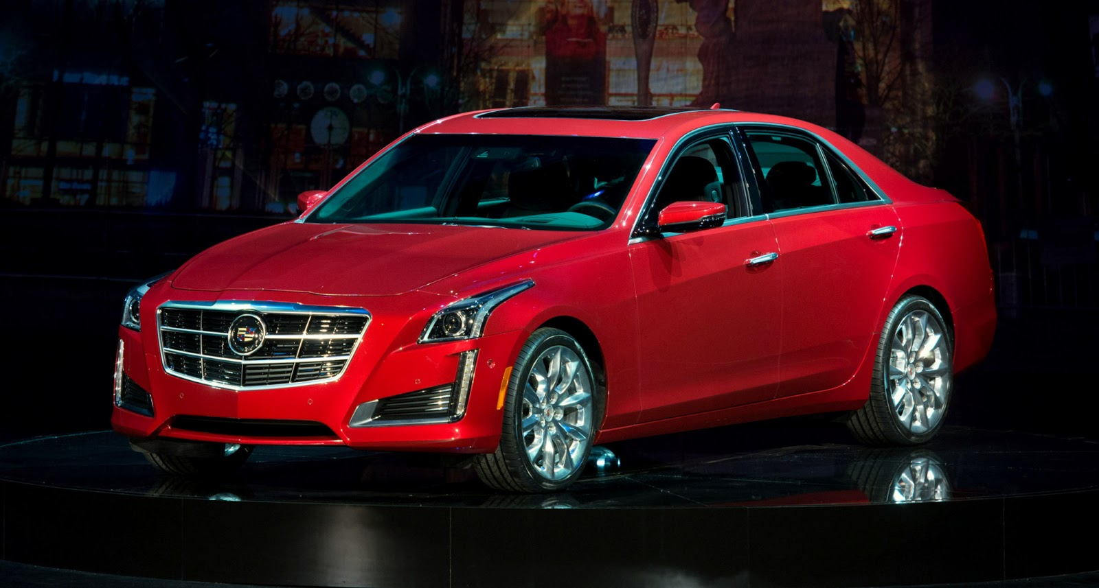 2014 cadillac cts moving on up in size and price. Black Bedroom Furniture Sets. Home Design Ideas