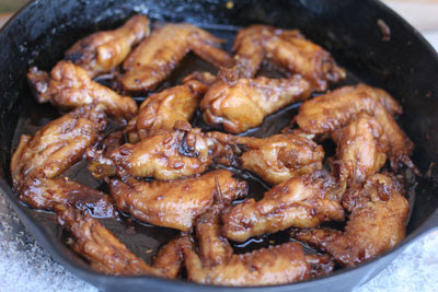 Taiwanese sweet and spicy wings
